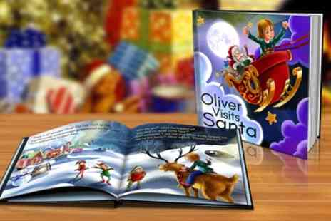 Dinkleboo - Softcover or Hardcover Personalised Christmas Storybook - Save 80%