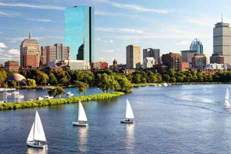 Travel Interaction -Three night 4 star Boston holiday with flights - Save 0%