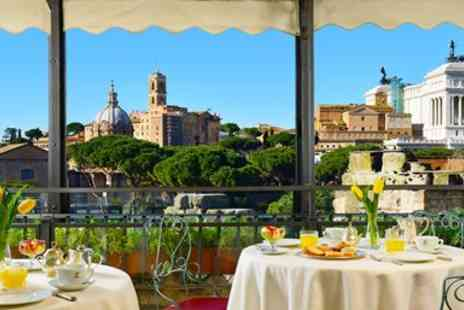 Hotel Forum - Central Rome stay with breakfast & bubbly - Save 0%