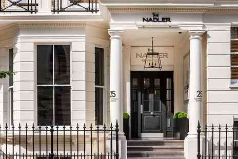 The Nadler Kensington - London Kensington stay with wine - Save 0%