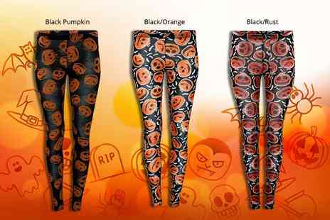 Verso Fashion - Pair of kids Halloween leggings choose from three styles - Save 62%