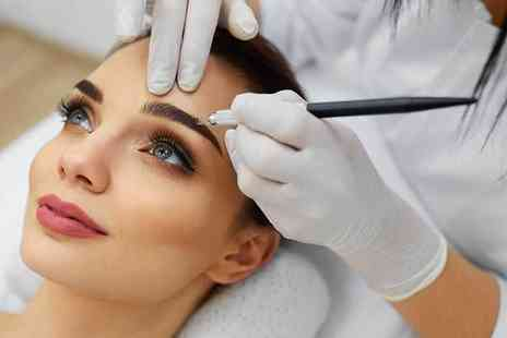 Nails in the City - Semi permanent eyebrow microblading treatment - Save 72%