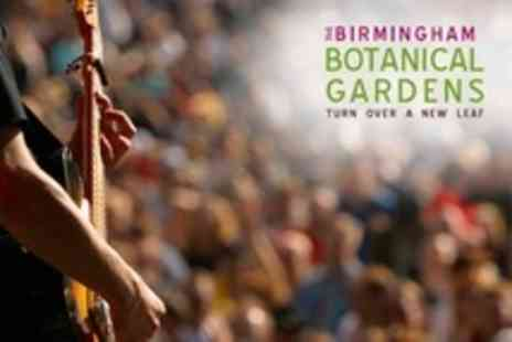 The Birmingham Botanical Gardens - Big Band Concert Two Tickets - Save 60%
