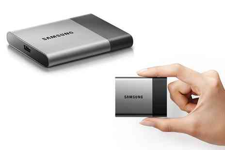 Groupon Goods Global GmbH - Samsung T3 SSD External Hard Drive 250GB or 2TB Storage Capacity With Free Delivery - Save 0%
