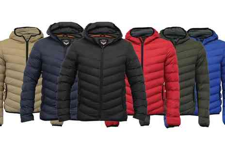 Groupon Goods Global GmbH - Mens Brave Soul Quilted Jacket in Choice of Colour - Save 0%