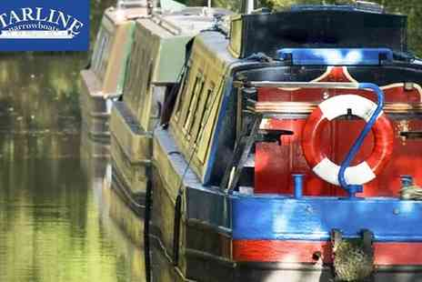 Starline Narrowboats - Full Day Narrowboat Hire for Up to 12 - Save 29%