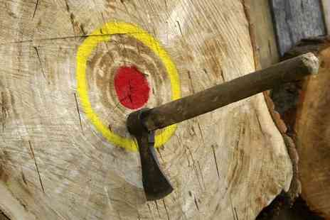 Firefly Activities - Axe Throwing Experience for One or Two - Save 0%