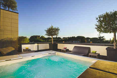 Hotel Pulitzer Roma - Four Star Stylish Design Hotel Stay For Two with Rooftop Hot Tub - Save 88%
