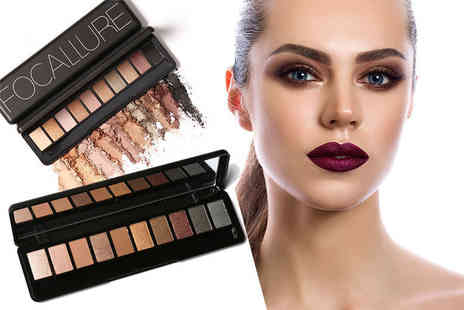 Fair Retail Adventures - 10 piece eyeshadow palette choose from four colour options - Save 67%