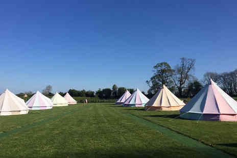 Botany Camping - Two nights of luxury glamping in a bell tent for up to five people - Save 50%