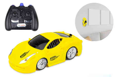 Toys Wizard - Wall climber remote control toy car - Save 72%