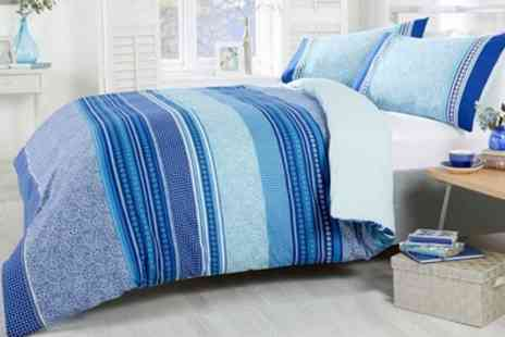 Groupon Goods Global GmbH - Rapport Home Havana Duvet Cover Set in Choice of Colour - Save 73%