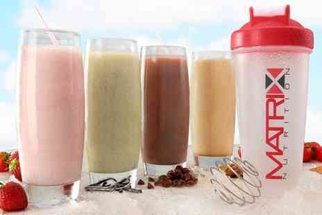 Groupon Goods Global GmbH - Matrix Ten Day, Three Week or Six Week Supply of Meal Replacement Diet Shakes - Save 67%