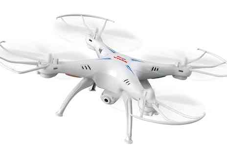Groupon Goods Global GmbH - Syma X5SW RC Quadcopter with Built In HD Camera - Save 43%