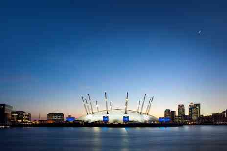 Up at The O2 - Up at the O2 Experience, £5 Groupon Credit and Cabana Lunch Option for One or Two - Save 19%
