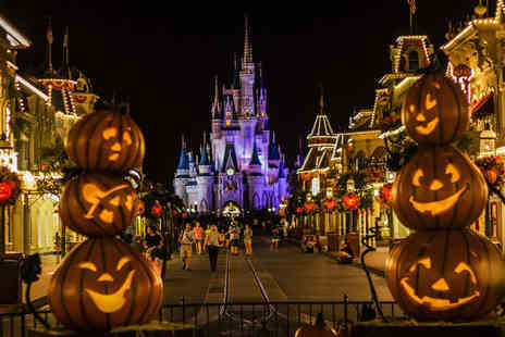 Weekender Breaks - Two or three night Disneyland Paris Halloween stay including flights and one day two park entry - Save 33%