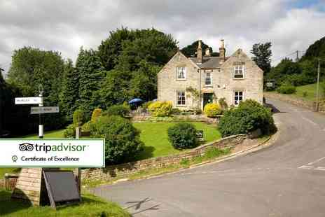 The Inn at Hawnby - One or two night stay for two with breakfast, two course dinner and glass of Prosecco each - Save 41%