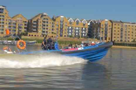 Thamesjet - Jet Boat Thames Tour for Two - Save 24%
