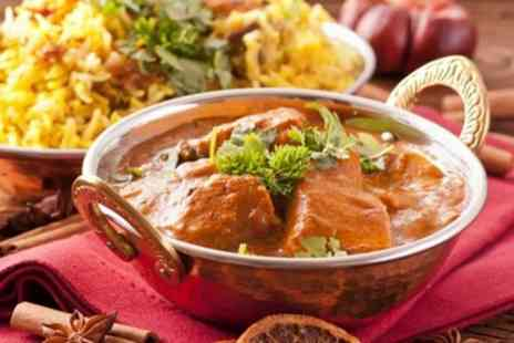 Desi Spice Club - Indian Meal with Rice or Naan for Two or Four - Save 45%
