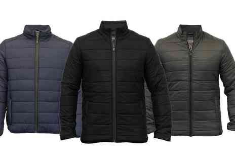 Groupon Goods Global GmbH - Mens Brave Soul Padded Jacket in Choice if Colour - Save 0%