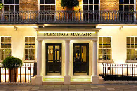 Flemings Mayfair Hotel - Four Star Londons Best Kept Secret For Two - Save 67%