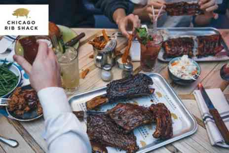Chicago Rib Shack - American Inspired Three Course Meal with Cocktail for Up to Six - Save 47%