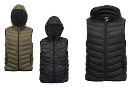 Groupon Goods Global GmbH - Mens Brave Soul Padded Gilet - Save 0%
