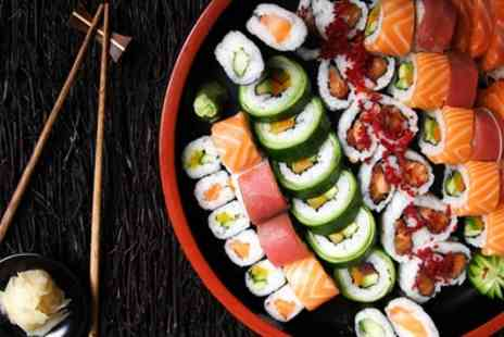 Mujigae Japanese and Korean Cuisine - Sushi and Beer for Two or Four - Save 55%