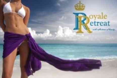 Royale Retreat - Xen Tan Spray Tan With Body Scrub - Save 62%