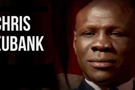 Metropolis Music - An Evening with Chris Eubank Senior, 30 November, 1 December in Wolverhampton and Norwich - Save 13%