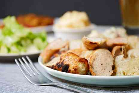 Liaise Bistro - Roast Dinner with Wine for Two - Save 50%