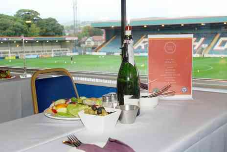 Rochdale AFC - VIP Rochdale AFC ticket with a two course meal and match day programme - Save 42%
