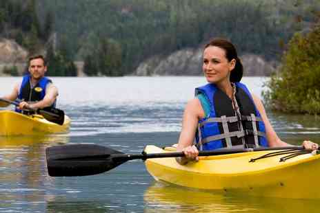 PaddleXperience - 90 or 150 Minute Canoeing or Kayaking Experience with Optional All-Day Session - Save 48%