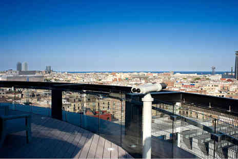 Barcelo Raval - Four Star Central Location Stay For Two by Gothic Quarter & Las Ramblas - Save 73%