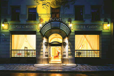 K+K Hotel Central - Four Star Art Deco Elegance in the City Centre Stay For Two - Save 73%