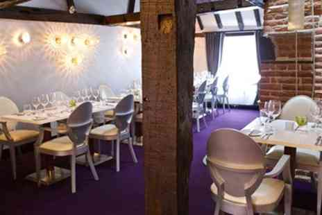 Hengist Restaurant - Two course set menu lunch including coffee for 2 - Save 30%