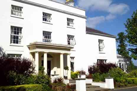 Fishmore Hall Hotel - Lunch for 2 with hill views at Shropshire country house - Save 55%