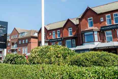 The Chadwick Hotel - Two night Lancashire seaside stay with dinner - Save 0%