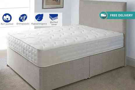 The Sleep People - Evolution Interactive orthopaedic memory sprung mattress Plus Delivery is Included - Save 82%
