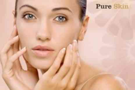 Pure Skin - Three Sessions of 60 Minute Facials Plus Consultation - Save 67%