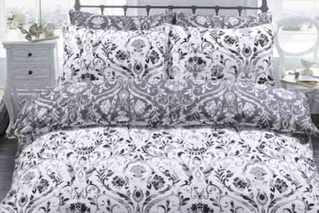 Groupon Goods Global GmbH - Pieridae Damask or Moroccan Paisley Duvet Cover Set - Save 69%