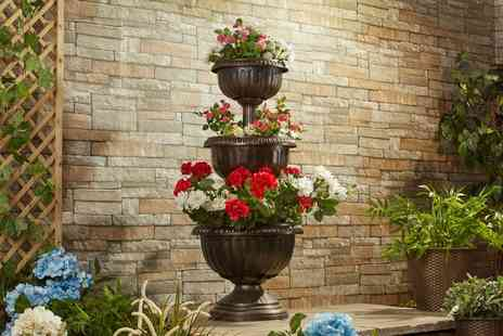 Groupon Goods Global GmbH - One or Two Three Tier Chelsea Planters - Save 48%