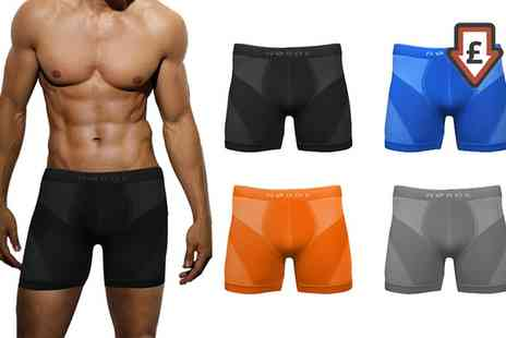 Groupon Goods Global GmbH - Two, Four or Six Pack of Mens Thermal Breathable Boxer Shorts - Save 66%