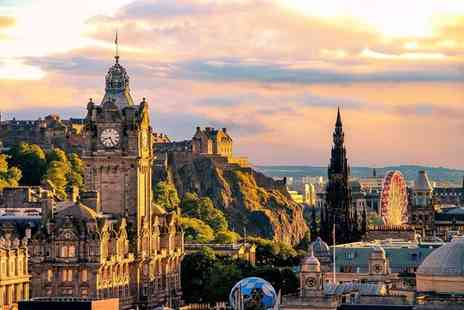 Hilton Carlton Edinburgh - Four Star Historic Hotel Stay For Two Located in Edinburghs Old Town - Save 0%