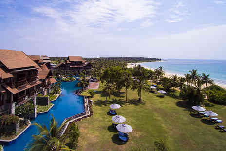 Anantaya Resort and Spa Passikudah - Five Star Luxury Sri Lankan Beach Resort With Balinese Spa - Save 0%