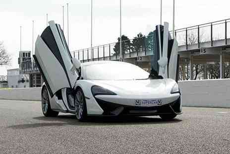 Buyagift - 3 mile McLaren 570s driving blast plus a high speed passenger - Save 0%