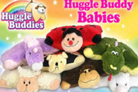 Pitch TV - Brand new Huggle Buddy Babies  cutest huggable pet pillow - Save 50%