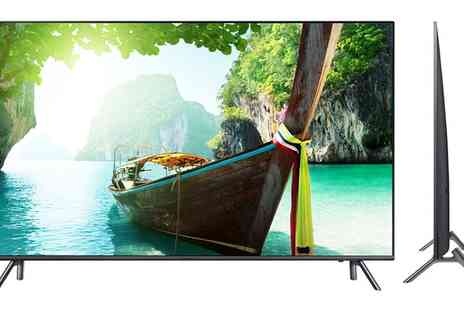 Groupon Goods Global GmbH - Samsung UE55MU7070 55 Inch Smart 4K Ultra HD HDR LED TV With Free Delivery - Save 15%