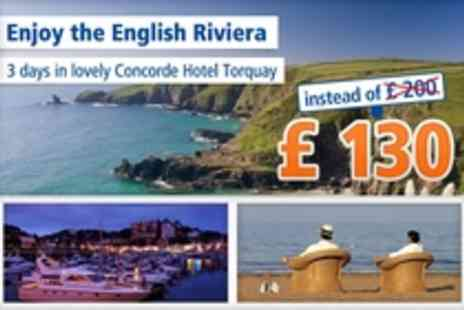 Concorde Hotel Torquay - The English Riviera The perfect choice - Save 35%