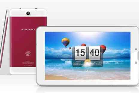 Groupon Goods Global GmbH - Kocaso Sofia 70 7 Inch Android 5.1 Quad-Core Tablet 8GB 3G Unlocked SIM and Accessories - Save 0%